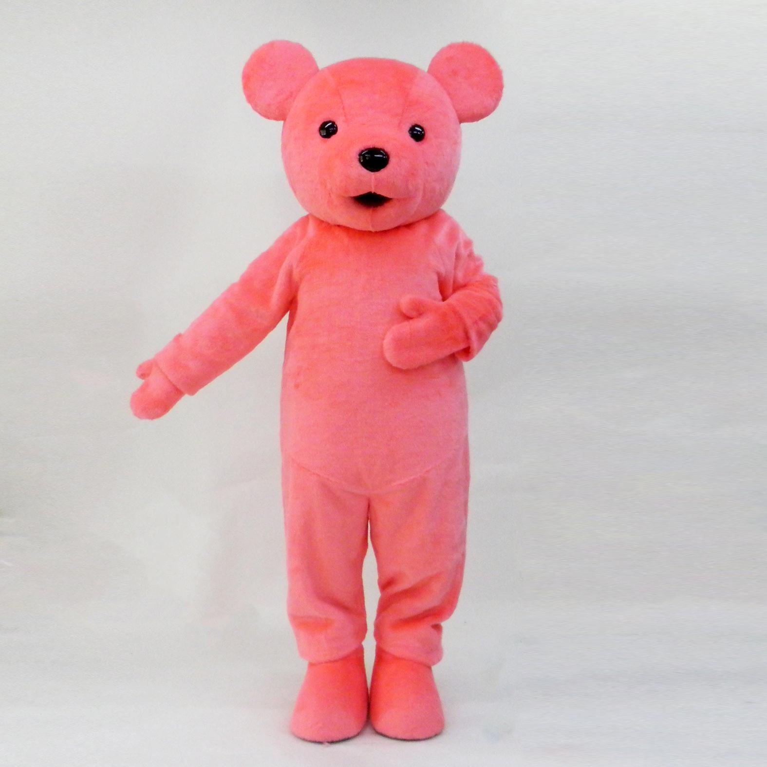 くま テディ ピンク